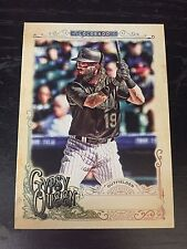 CHARLIE BLACKMON 2017 Topps GYPSY QUEEN ** MISSING NAMEPLATE ** ROCKIES #247
