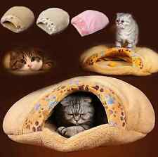 Cat House Washable Cotton Igloo Soft Warm Plush Winter Bed Sleeping Kitten Cave