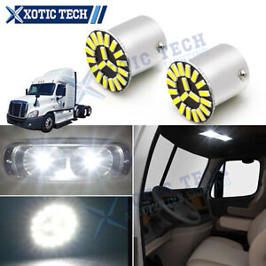 1156 Interior LED Bulb For Freightliner Cascadia 2008-2017 Sleeper Cab Light 2x