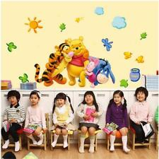 Winnie The Pooh Wall Decals Kids Bedroom Baby Nursery Stickers Art Decor Room SY