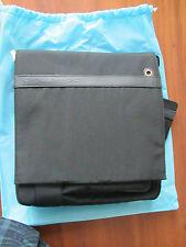 Piquadro, Barcelona, Black Pocketed Shoulder bag, organized, strap CA1701S11/N