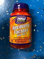 NOW Recovery Factors with IGF-1, 90 Veg Capsules Non-GMO Immune System Support