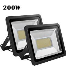 2X 200W LED Flood light Warm White Arena Outdoor Garden Yard SpotLight IP65 110V