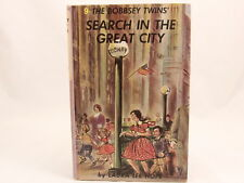 Bobbsey Twins Search in the Great City by Laura Lee Hope #9 1960 HC