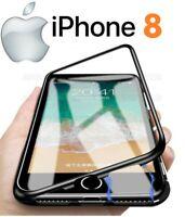 COVER MAGNETICA Per APPLE IPHONE 8 8G CUSTODIA PROTEZIONE 360° VETRO TEMPERATO