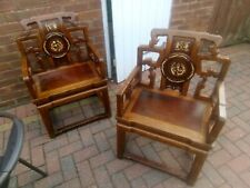 More details for pair of chinese alter style chairs - will consider offers