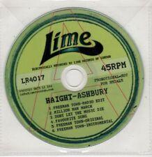 (GU182) Haight-Ashbury, Freeman Town - 2010 DJ CD