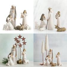 Willow Tree 26005 Weihnachtsartikel heilige Familie Kunstharz