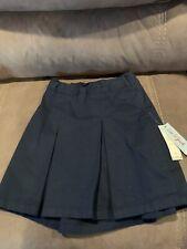 Girls Nwt Cat & Jack Blue Uniform Skirt Size 12