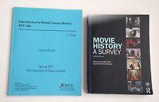 Movie History Survey & Intro to World Cinema UT Austin RTF College Textbook Lot