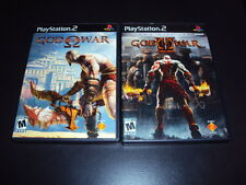 "God of War & God of War II Lot (Sony PlayStation 2) Complete ""Great Condition"""