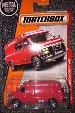 2017 MATCHBOX 1995 CUSTOM CHEVY VAN W/ Spare Tire New In Package 1:64 Die Cast