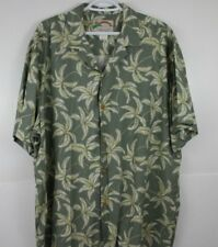 Paradise Found Hawaiian Shirt Size XL 100% Rayon Made in Hawaii