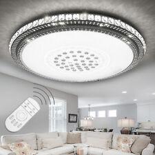 LUXUS LED Deckenlampe Kristall Deckenleuchte Sternhimmel Dimmbar Wohnzimmerlampe