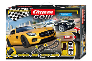 Carrera GO!!! Highway Action Slot Car Set
