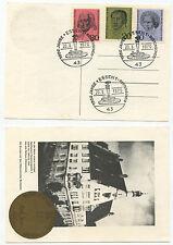 06453 - Mi.Nr. 616-618 - Ersttagstempel - kompl. Satz - Sonderstempel 20.3.1970