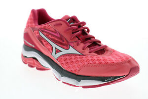 Mizuno Wave Inspire 12 FCLR614B15 Womens Pink Mesh Athletic Running Shoes 8