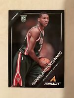 Giannis Antetokounmpo 2013-14 Panini Pinnacle **ROOKIE CARD!!** #5 BUCKS MVP RC