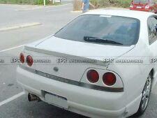 Fiber Glass For Nissan R33 Car Styling Rear Spoiler Drift Wing Part (139 x10x79)