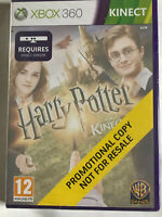 Harry Potter Kinect / New & Factory Sealed / Xbox 360