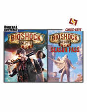 Bioshock Infinite + Season Pass Bundle Steam Key Pc Game Global