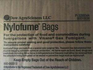 NYLOFUME BAGS, For Backpacks, Waterproof, Oder resistant 25 Total New Free Ship