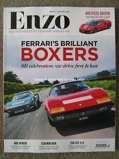 Enzo magazine Autumn 2018 issue 5 Ferrari Berlinetta Boxer 488 Spider Pista