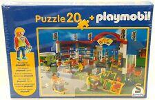 SUPERMARKT MALL Playmobil / Schmidt PUZZLE + FIGUR 55262 von 2003 OVP NEU RAR !
