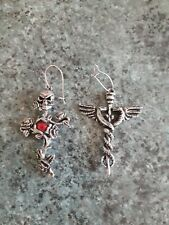 Alchemy Gothic earrings x2 (replacements)