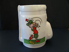 VINTAGE COLLECTORS CUP MADE LIKE GOLF BAG 4 WAYS TO LOWER YOUR HANDICAP