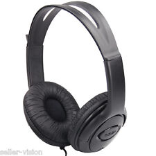 Black Earphones Headset Microphone for Microsoft Xbox 360 Live Online Gaming