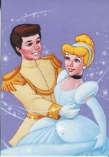 POST CARD FROM THE DISNEY ROMANCE SERIES THIS IS CINDERELLA AND PRINCE CHARMING