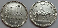 Argentinien 10 Pesos 1968 @1