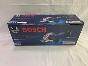 "Bosch GWX18V-50PCN 4-1/2""-5"" 18V X - LOCK Grinder (New In Retail Box) Bare Tool"