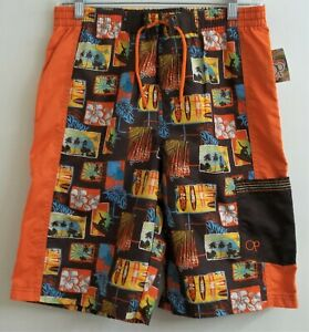 Ocean Pacific Boy's OP Swim Trunks M Medium (14-16) Size New with Tag
