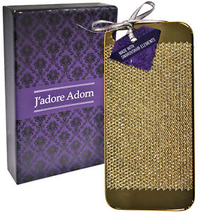 New Genuine J'Adore Adorn Gold Colour Swarovski Elements Case for Iphone 5/5S