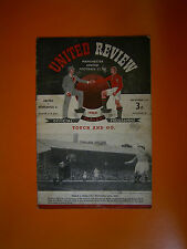 League Division One - Manchester United v Newcastle United - 2nd December 1950
