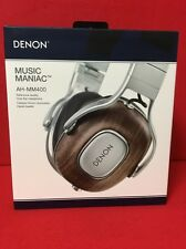 DENON AH-MM400EM MUSIC MANIAC Over ear Headphones From Japan NEW Brown Very RARE