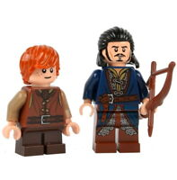LEGO LORD OF THE RINGS Bard Minifigure Bain Minifigures Bowman The Hobbit Rare