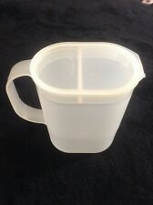 Vintage Tupperware 1 Qt. Refrigerator Jug/Pitcher 1529 With Pourable Cover #1530