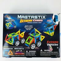 CraZArt Magtastix Extreme Combo Triangle Square & Rods Extreme Vehicles