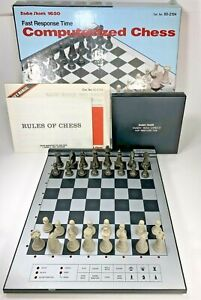 Radio Shack 1650 Fast Response Time Tandy Computerized Chess Cat No. 60-2194