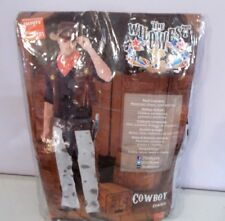New Smiffys Wildwest Cowboy Western Adult Costume Large