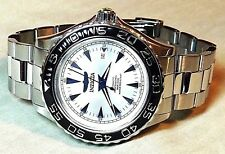 INVICTA PRO DIVER OCEAN GHOST SILVER DIAL ( 200 M - 660 FT ) S / STEEL