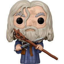 FUNKO POP Lord of the Rings Gandalf the Grey SOFT VINYL BOBBLEHEAD ACTION FIGURE