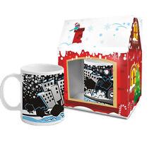 Tè di Natale MOTO & tazza caffè confezione regalo cambia colore in scatola - 300ml EX16/11