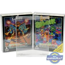 10 X Box Gioco Protettori PER ATARI LYNX games forte 0.4 mm in Plastica Display Custodia