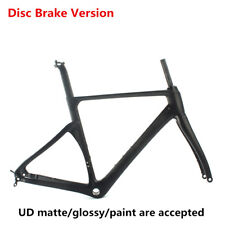 2017 Disc Brake bike carbon TT road bike frame aero 46/49/52/54/56/58cm