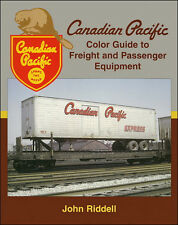 CANADIAN PACIFIC Color Guide to Freight & Passenger Equipment (Out of Print NEW)