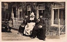 RPPC VOLENDAM NETHERLANDS GAARTJE VAN KIEFT REAL PHOTO POSTCARD 1931